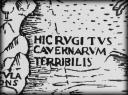 HIC RUGITUS CAVERNARUM TERRIBILIS