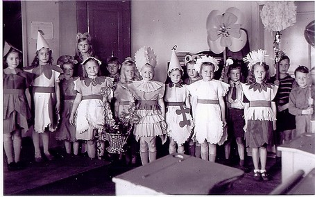 Bergets skola 1948skolavslutning