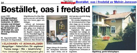 VÄsterbottens Mellanbygd Nr 10 den 12 juni 2008