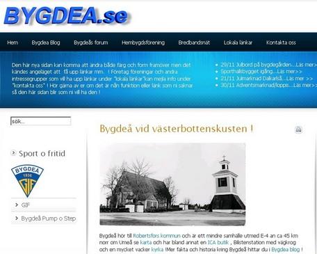 Bygdea.se eller BygdaNet